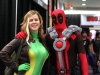 Rogue and Deadpool cosplay Fan Expo