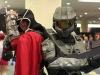Assassin's Creed Desmond Miles and Halo Master Chief cosplay Fan Expo