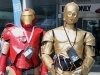 Iron Man and C3-P0 cosplay Fan Expo