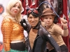 Aquaman Catwoman and Indiana Jones Burlesque Troupe cosplay Fan Expo