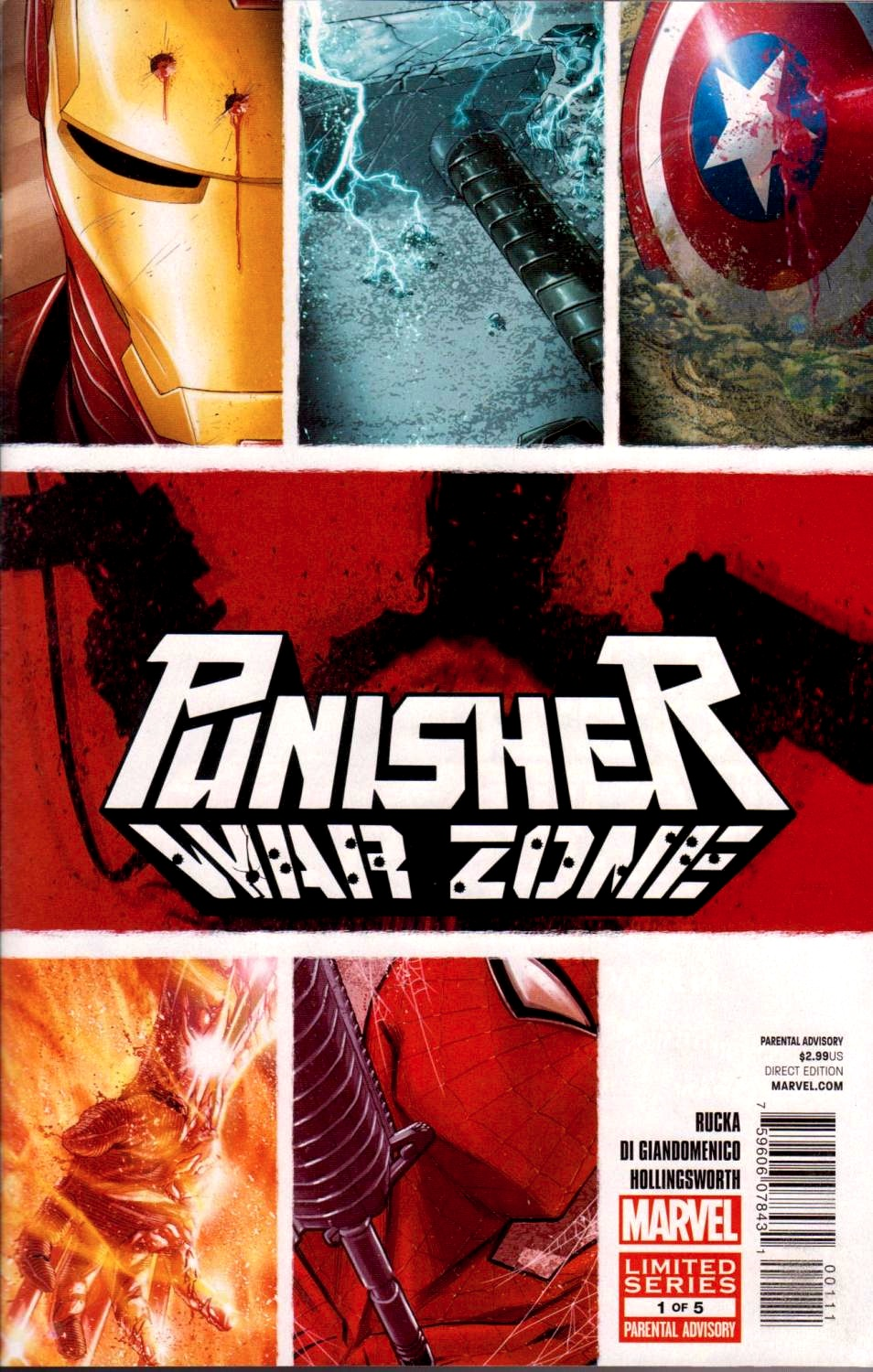 Cool Book Cover Zone : Comic book review punisher war zone