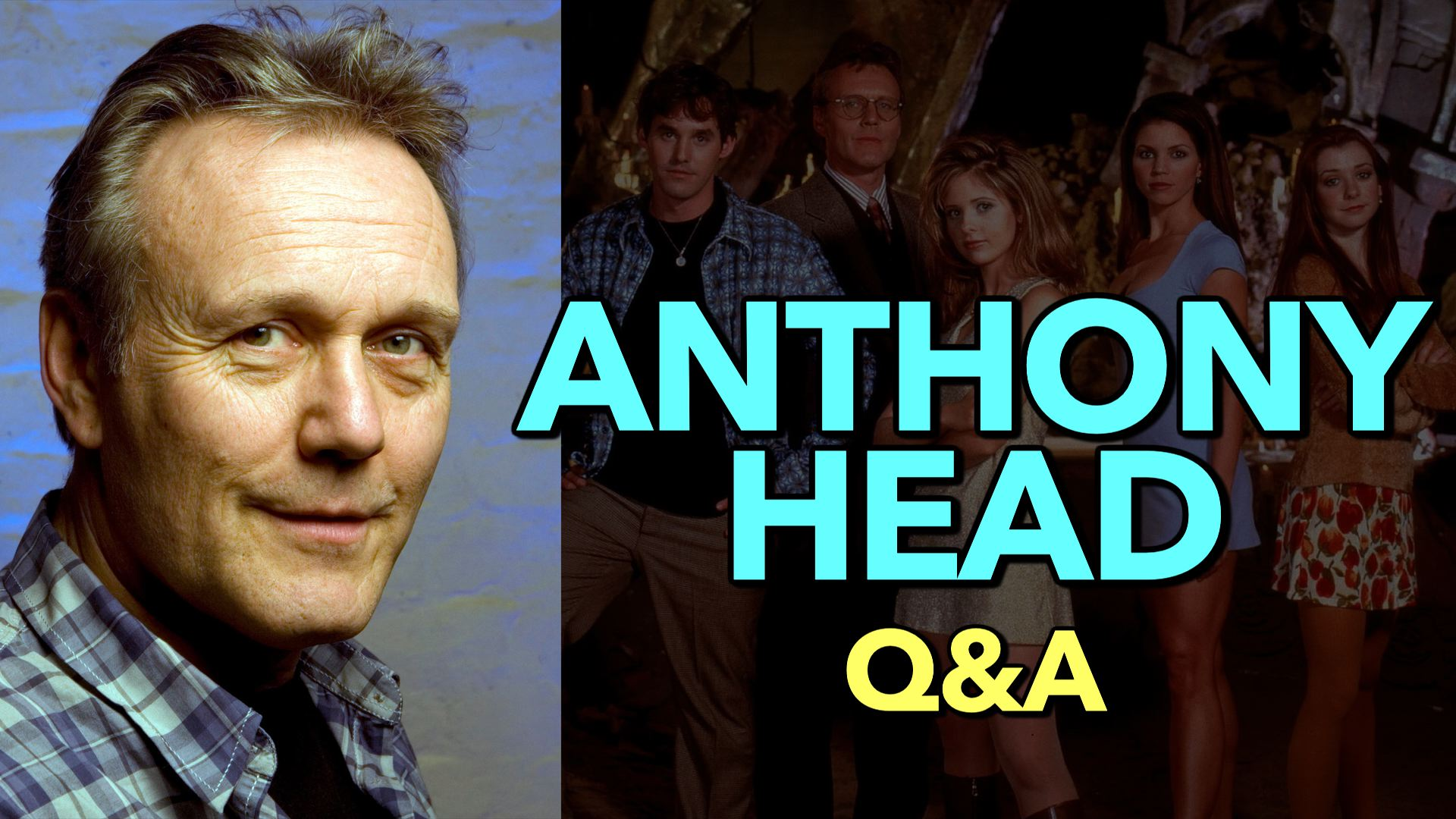 Anthony Head (BUFFY) Q&A at Fan Expo Canada