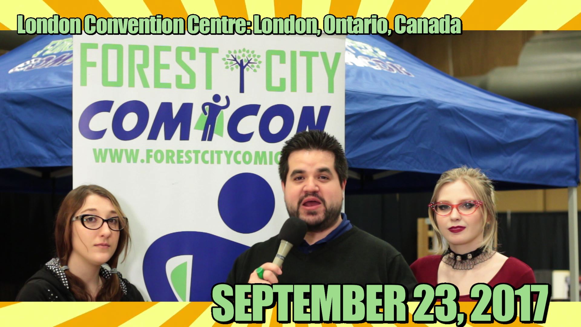 Forest City ComiCon - promo