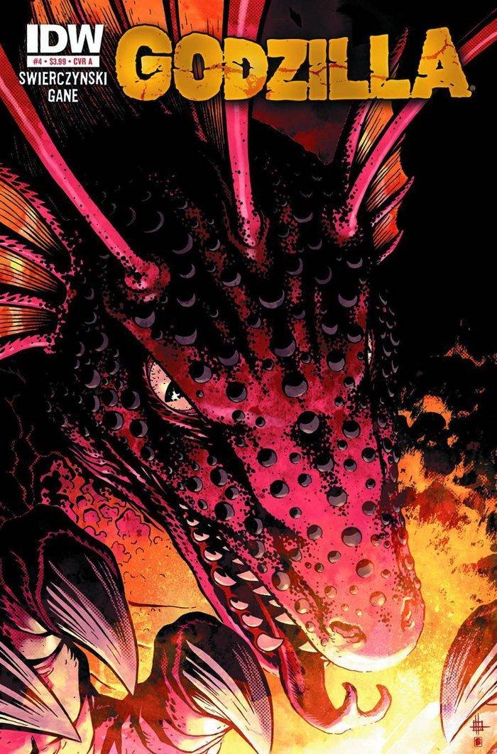 Godzilla #4