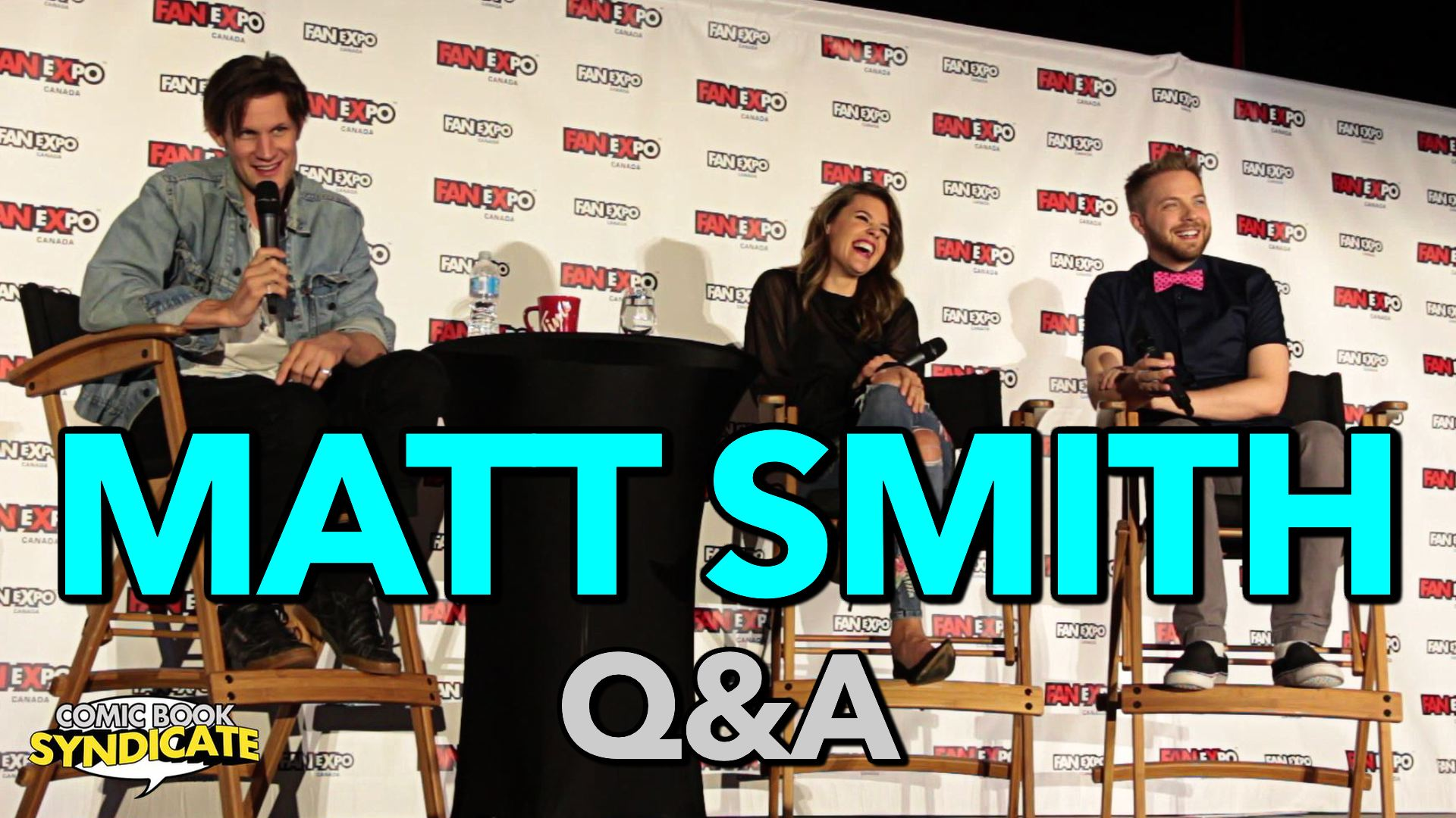 Matt Smith (Doctor Who) Q&A at Fan Expo Canada
