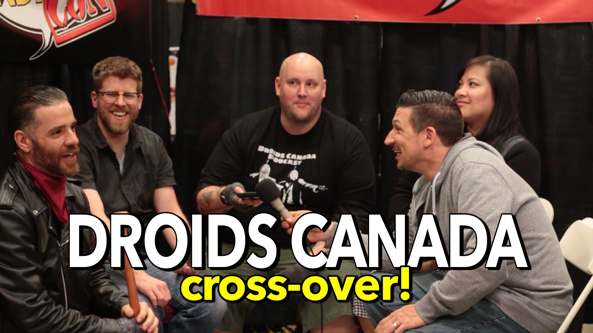 It's a comic con crossover w Droids Canada!