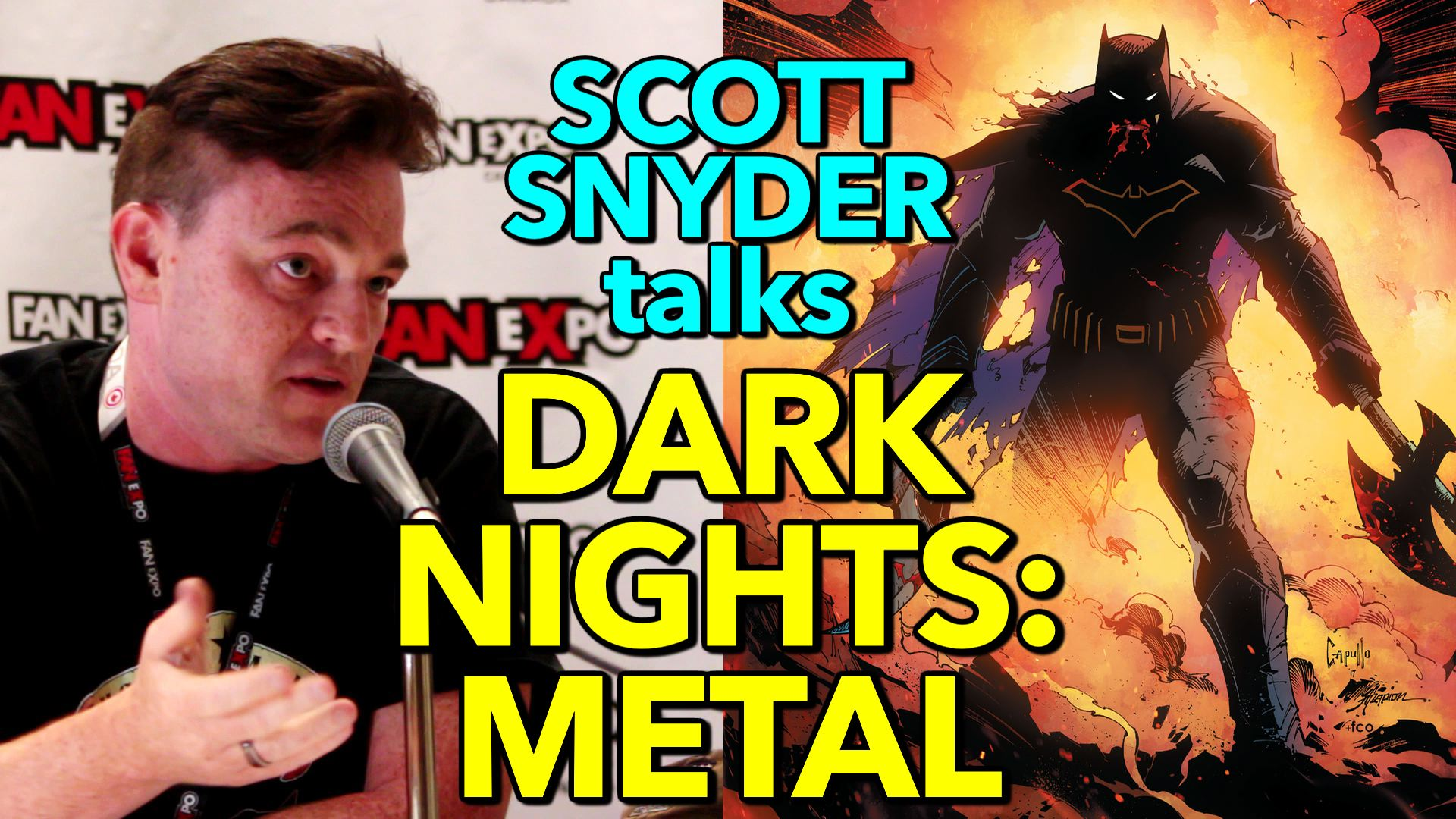 Scott Snyder talks DARK NIGHTS: METAL