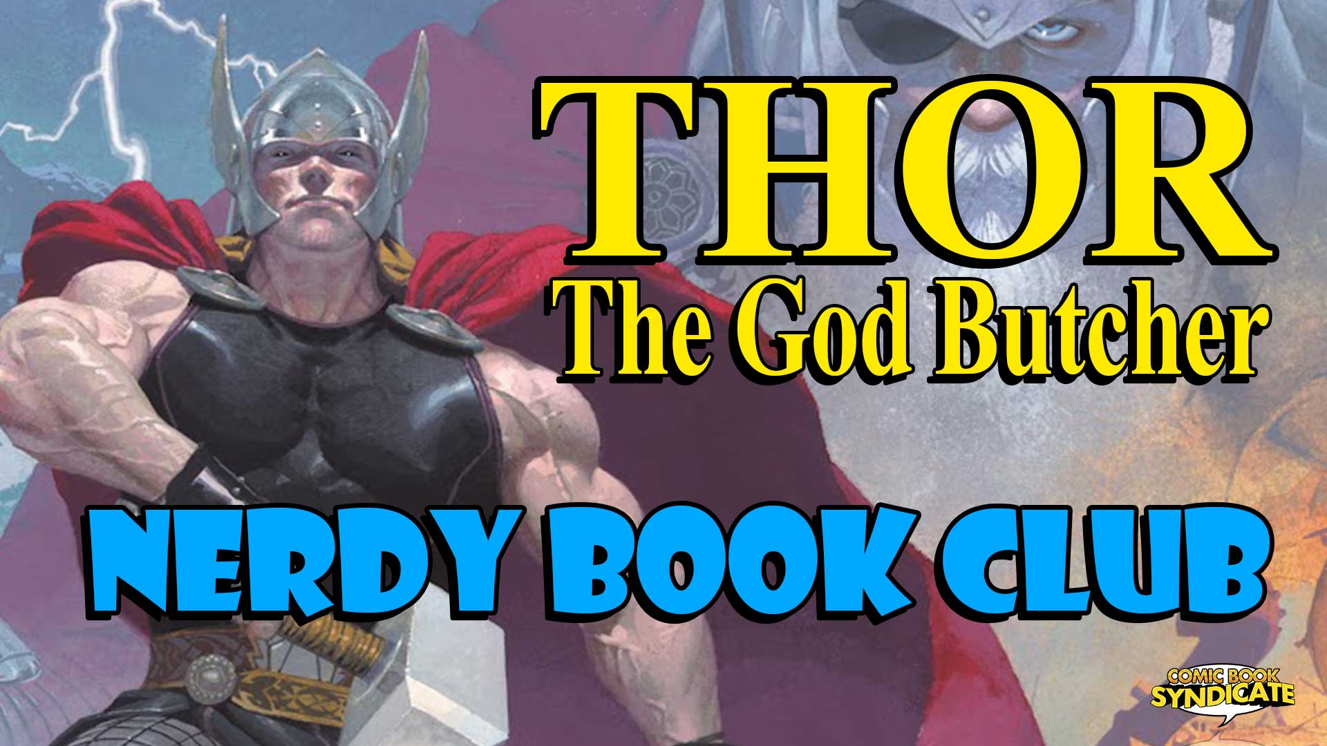 Thor: The God Butcher - Nerdy Book Club