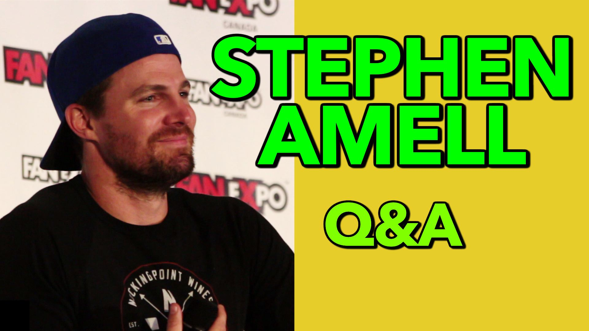 Stephen Amell (ARROW) Q&A at Fan Expo Canada