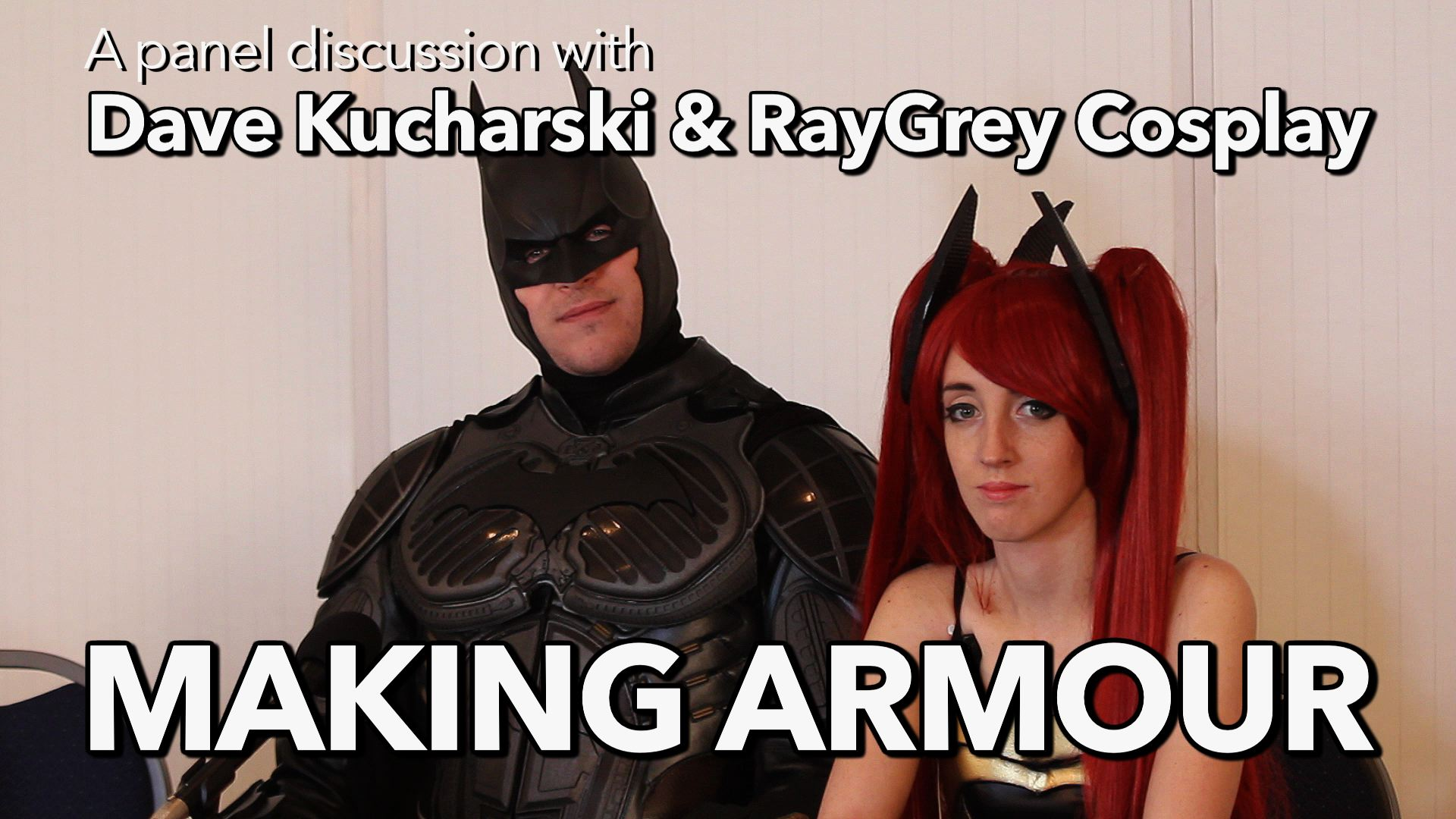 How to make Cosplay armour using foam and Worbla