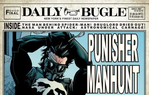 Comic Book Newspaper in a Comic Book